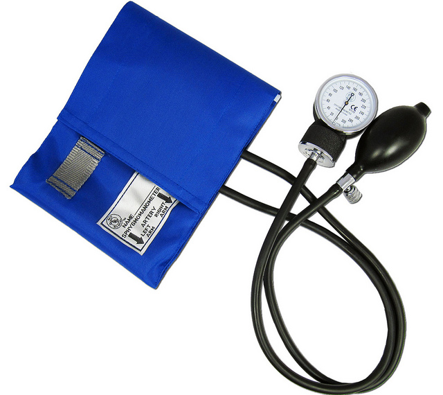 Blood Pressure Monitor, used under CC 2.0